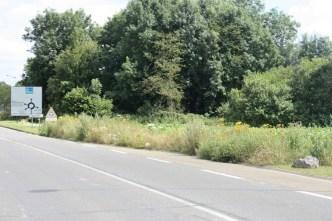 Route de Provins, entrée de ville peu soignée