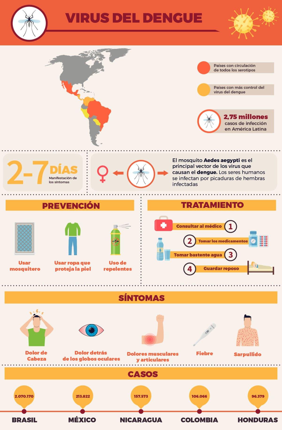 dengue en las américas
