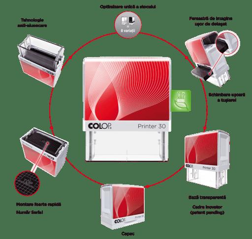 stampila printer 50