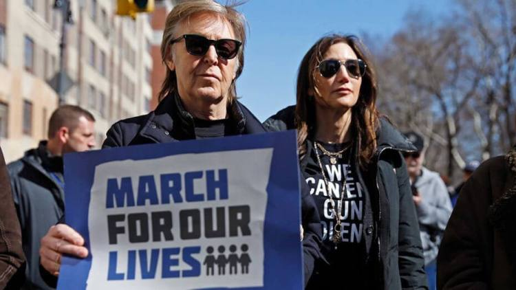 March for Our Lives - Paul McCartney