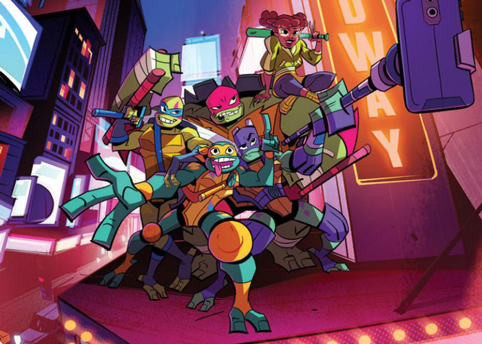 Rise of the Teenage Mutant Ninja Turtles Watch
