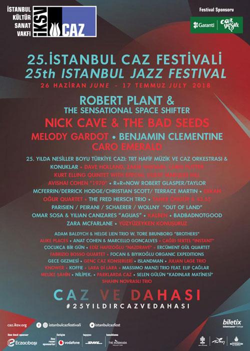 İstanbul Caz Festivali 2018