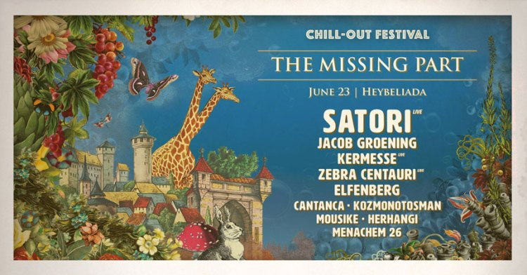 Chill-Out Festival - The Missing Part Afiş