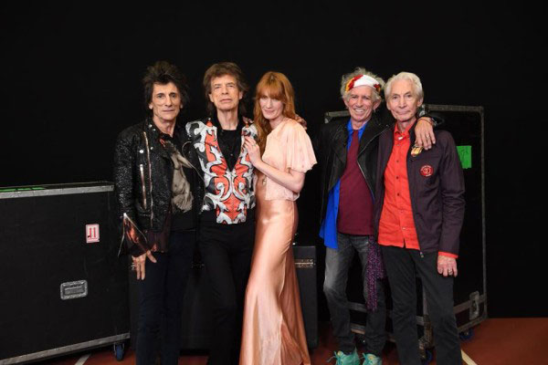 Florence Welch ve The Rolling Stones