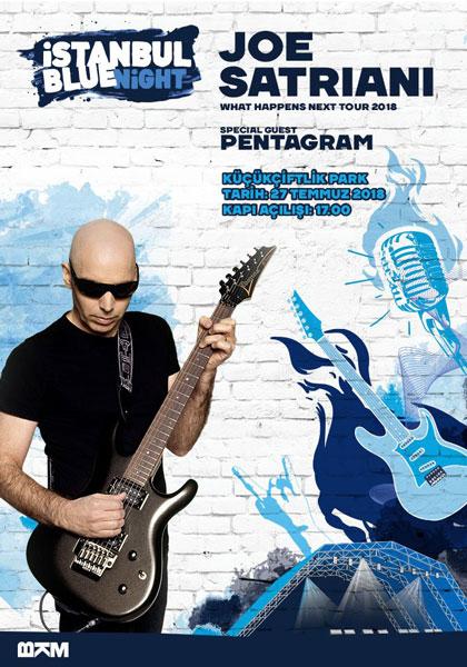 Joe Satriani 27 Temmuz İstanbul Konseri