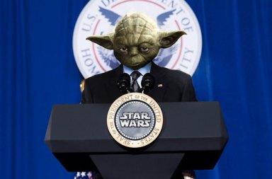 Star Wars Gününde Star Wars Ekibi Beyaz Saray'ı Ele Geçirirse