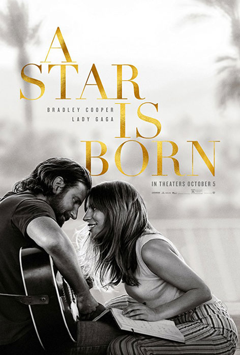 Bradley Cooper ve Lady Gaga'lı A Star Is Born Poster