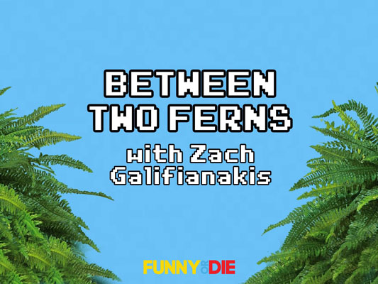 Between Two Ferns Zach Galifianakis Funny or Die