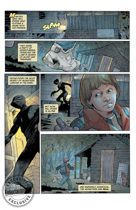 Stranger Things Comic Book Dark House Mini Series 2