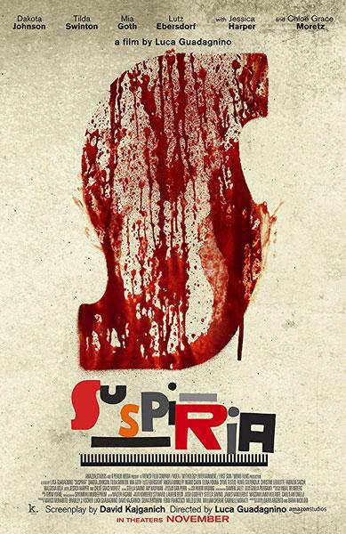 Yeni Suspiria Film Poster