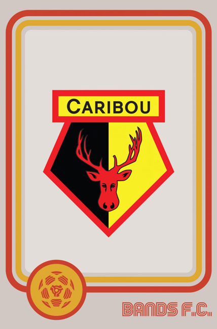 Tim Burgees Bands F.C. Football Logos Caribou