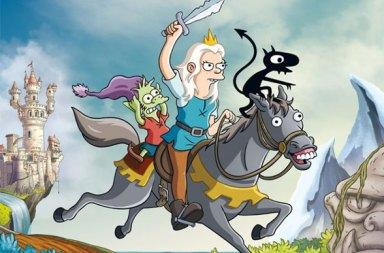 The Simpsons Yaratıcısı Disenchantment Animasyonundan İlk Fragman