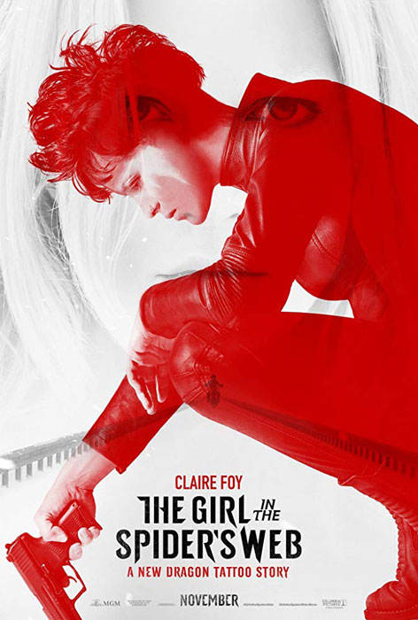 the Girl in the Spider's Web Poster starring