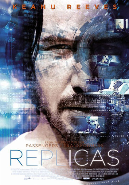 Keanu Reeves Sci-Fi Film Replicas New Trailer: Watch