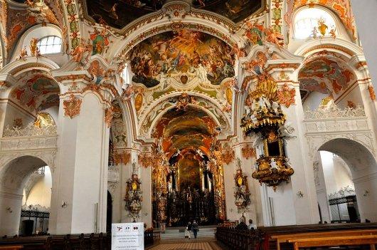 Resultado de imagen de La abadía de Einsiedeln