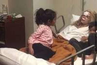 Kedua Mantan Suami Sheila Marcia 'Akrab' Saat Menjenguknya Pasca Kecelakaan