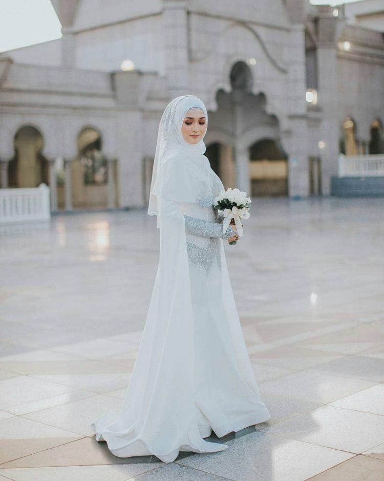 Syarat Gaun Pengantin Muslimah Yang Syar I Seruni Id