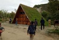 Rumah Rumput Ngarai Sianok yang Instagenik