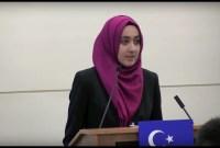 Aydin Anwar, Hijabers Pejuang Hak Muslim Uighur di China