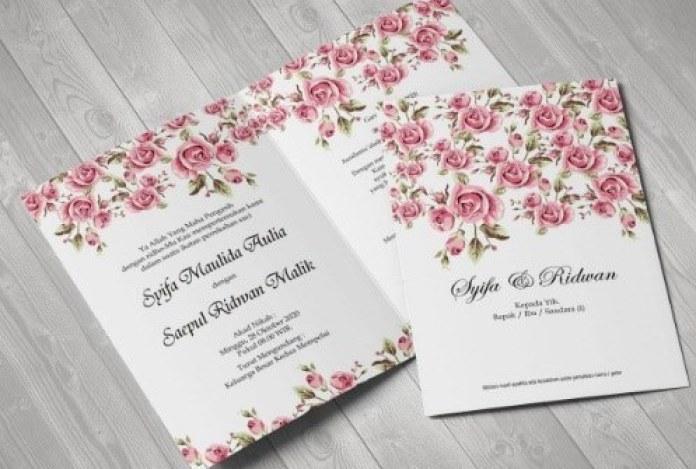 17 Desain Undangan Pernikahan Simpel Unik Dan Elegan Seruni Id