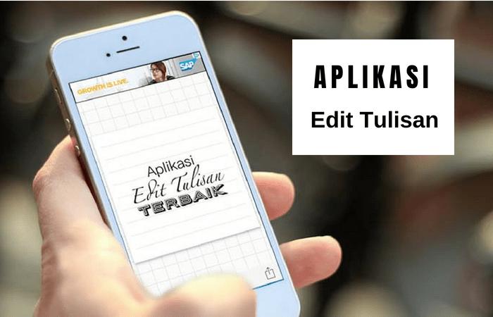 23 Aplikasi Edit Foto Dengan Teks Yang Paling Populer Seruni Id