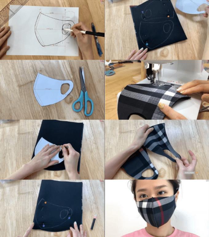 5 Cara Mudah Membuat Masker Kain di Rumah
