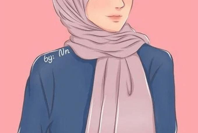 Supaya status wa dan instagrammu tidak mleulu foto kamu,. 60 Gambar Muslimah Keren Yang Bisa Dijadikan Sebagai Wallpaper