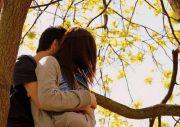 Hug my wife