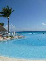 Le Blanc Spa Resort in Cancun the amazing oceanfront infinity pool is just the tip of the iceberg