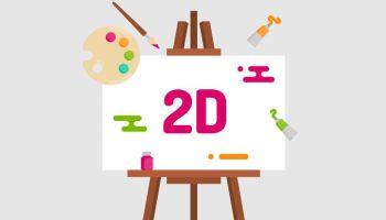 seni rupa 2 dimensi, pengertian dan contoh