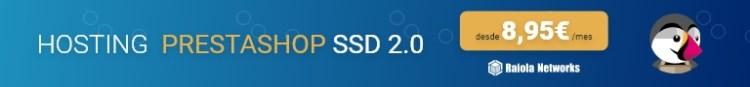 Hosting SSD Prestashop