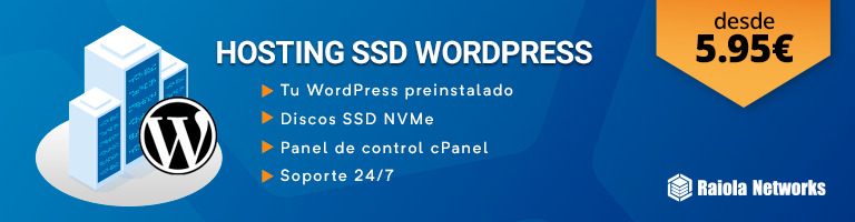 Hosting WordPress SSD