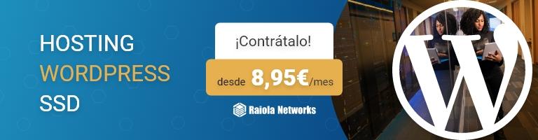 Hosting WordPress SSD