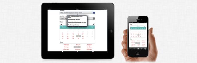 Imagen de una pantalla del plugin para cita previa online BirchPress Scheduler de WordPress