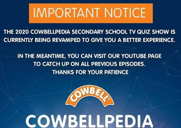 Cowbellpedia update