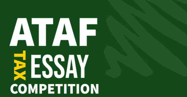 ataf tax essay competition