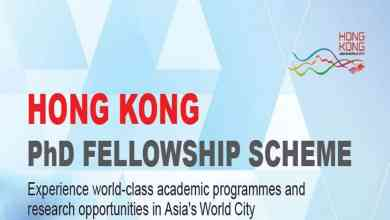 Photo of Hong Kong PhD Fellowship Scheme 2019-2020