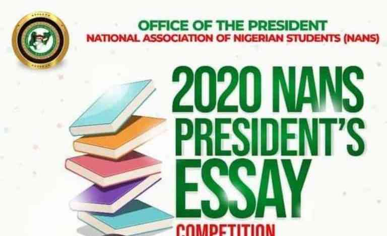 Photo of NANS Essay Competition 2020 For Secondary Schools