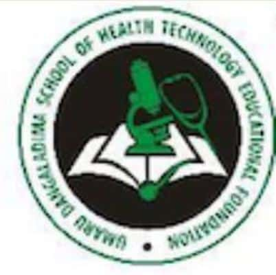 Umaru Dangaladima School of Health Technology logo