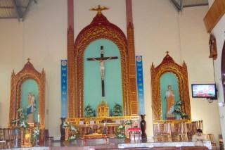 Interior of Vietnaamese Church