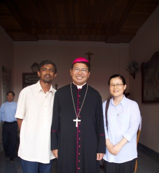 Vietnamese bishop and two religious
