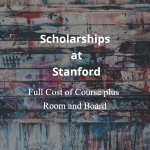 Stanford Graduate School of Business MBA Fellowship