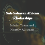 Graduate Sub-Saharan African Scholarships at University of Western Cape