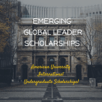 American University EGL Scholarship (International Undergraduate Students)