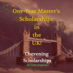 British Chevening Scholarships for Foreign Students