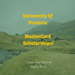 MasterCard Foundation Scholarships, University of Pretoria