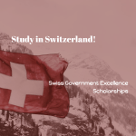 Swiss Government Excellence Scholarships (Research)