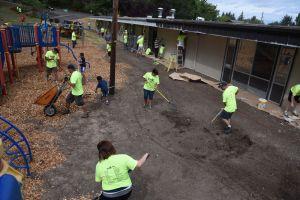 Volunteers at Fir Grove