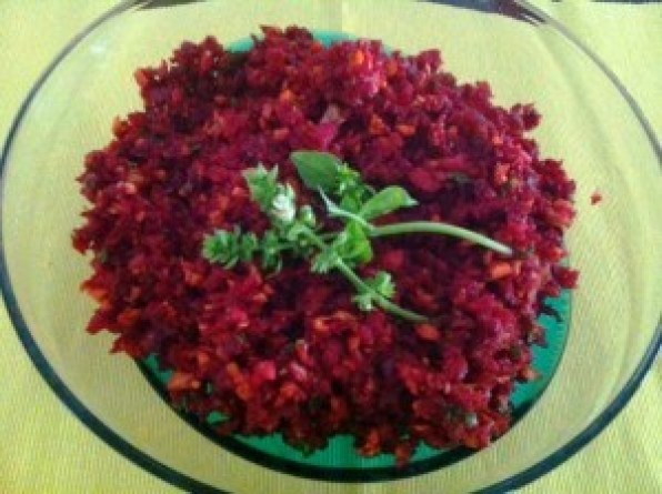 Beetroot Salad Thermomix Recipe