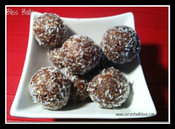 Bliss Balls Thermomix Recipe